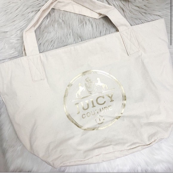 Juicy Couture Handbags - Juicy Couture Canvas Tote NWT